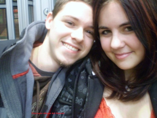 Aaron and I in 2008 :)
