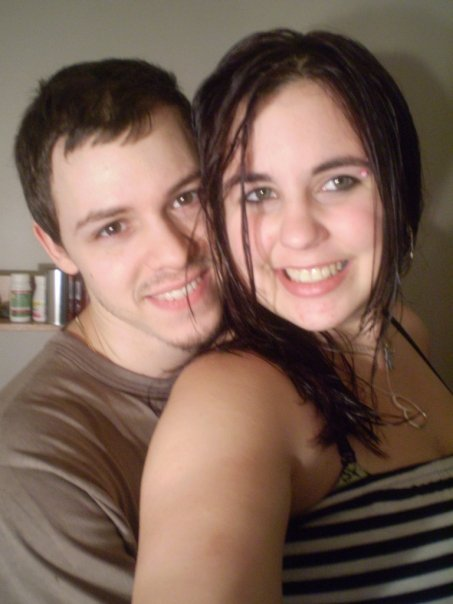 Aaron and I in 2009